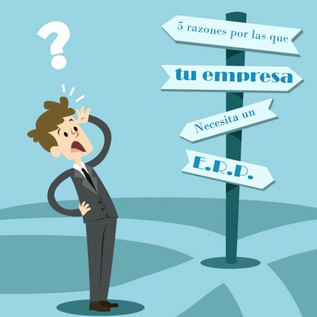 necesitas un ERP en tu empresasolución de planificación de recursos empresariales