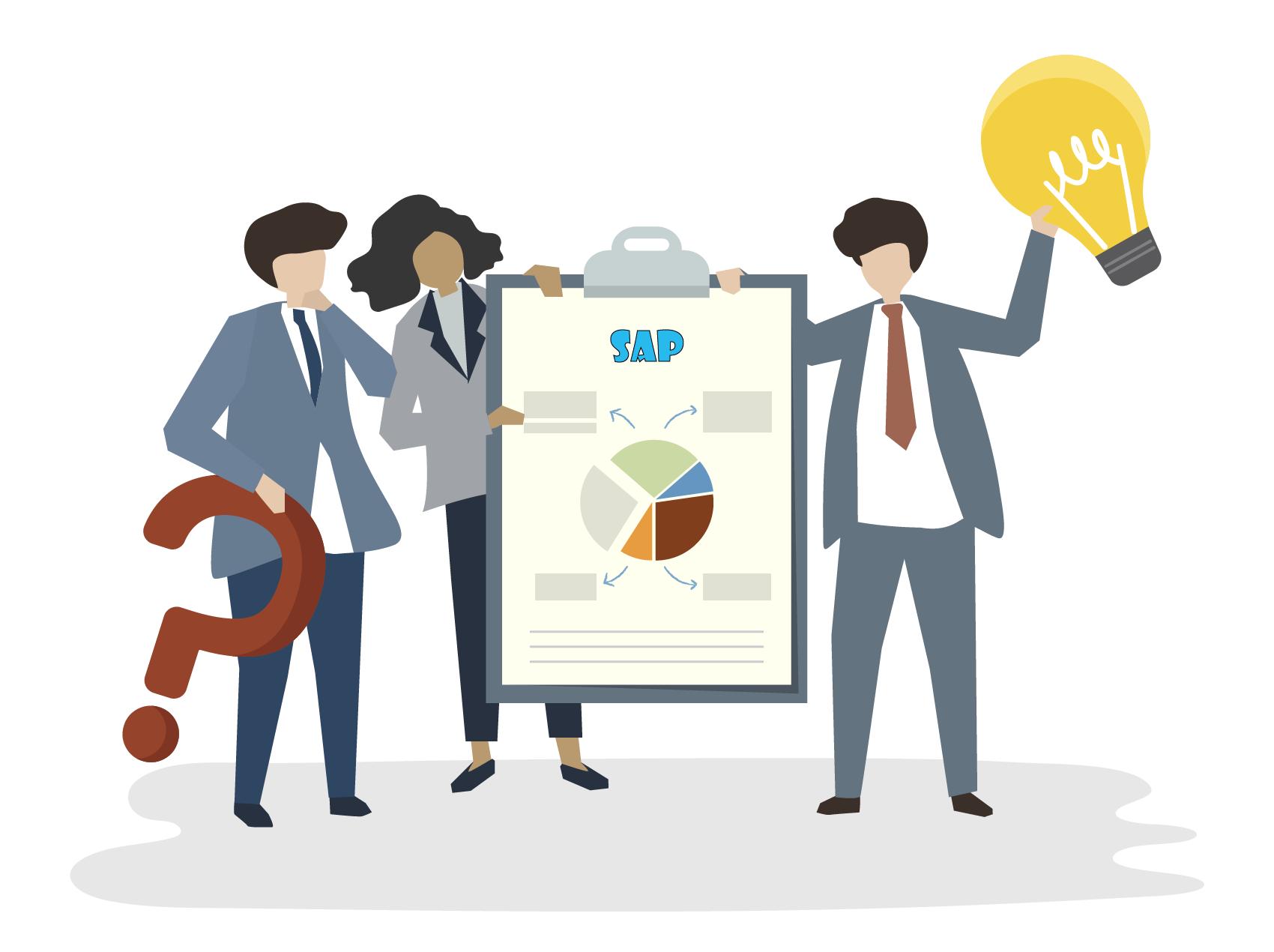 El sistema SAP consta de una serie de módulos totalmente integrados