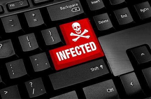 ordenador infectado ransomware