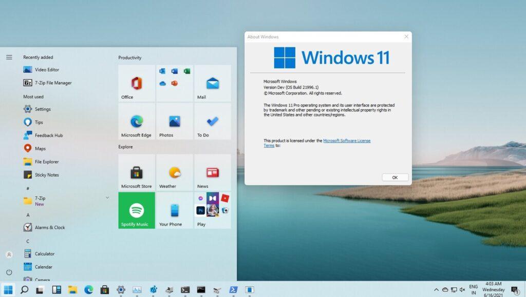 menú tradicional en Windows 11